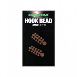 KORDA HOOK BEAD MEDIUM GREEN